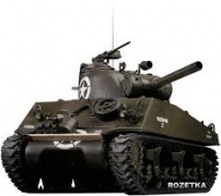 Танк р/у  1:24 US M4A3 ШЕРМАН Forces of Valor (UNIMAX)