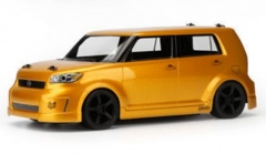 1: 10 Туринг SWITCH в кузове SCION XB (GOLD RUSH MICA) передний привод КОЛ. HPI