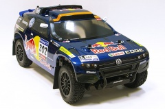 1: 10 раллийная VOLKSWAGEN RACE TOUAREG 3 4WD электро КОЛ. RTR Carisma